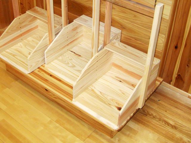 杉板加工品:ちりとり