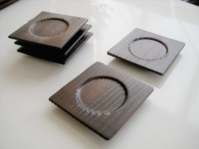杉板加工品:コースター