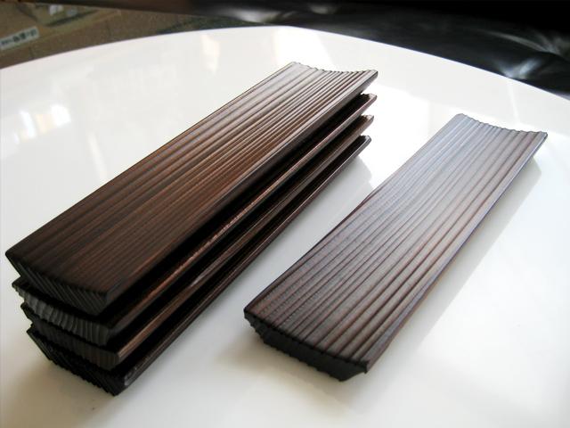 杉板加工品:おしぼり台