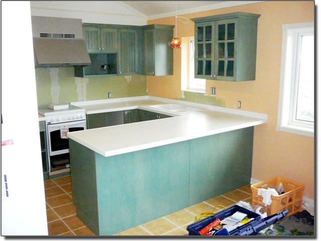 キッチンのカウンター(天板・人工大理石)