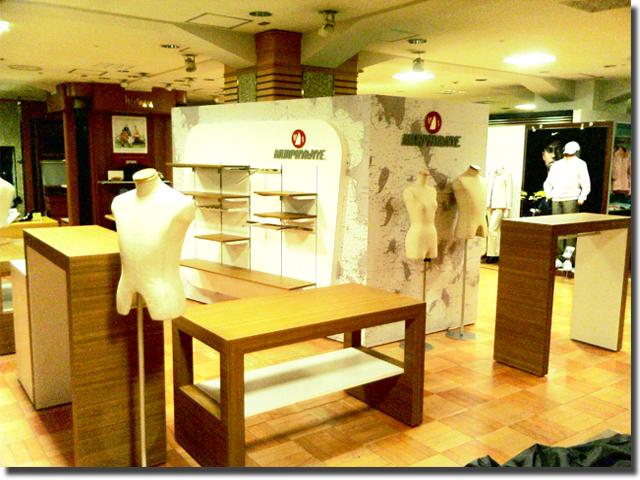 店舗用什器のオーダー製作・木製商品棚